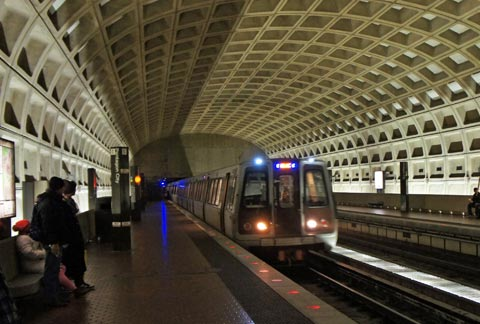 Moverse en metro por Washington
